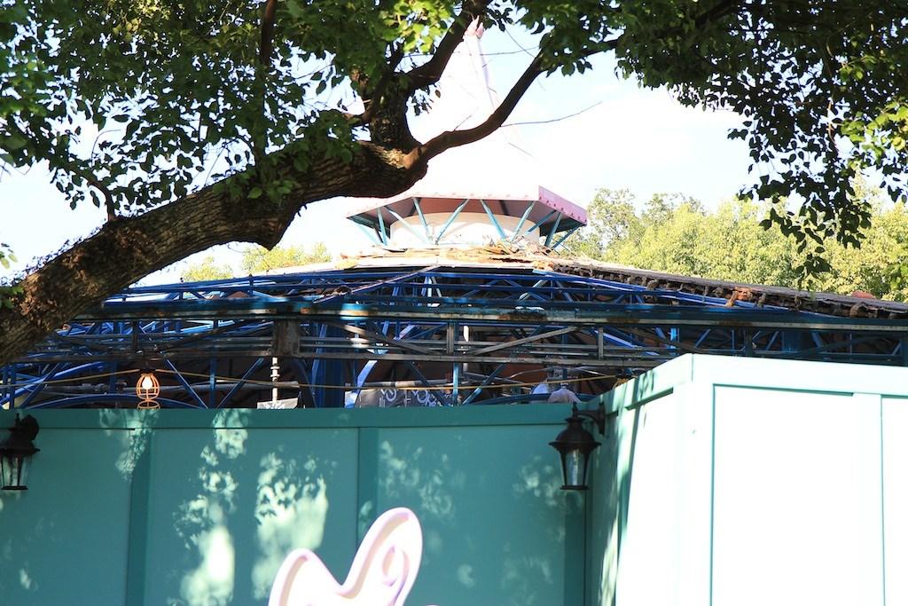 Refurbishment roof work