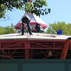 Roof refurbishment