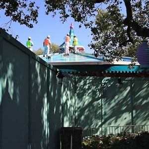 2 of 4: Mad Tea Party - Roof refurbishment