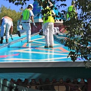 4 of 4: Mad Tea Party - Roof refurbishment