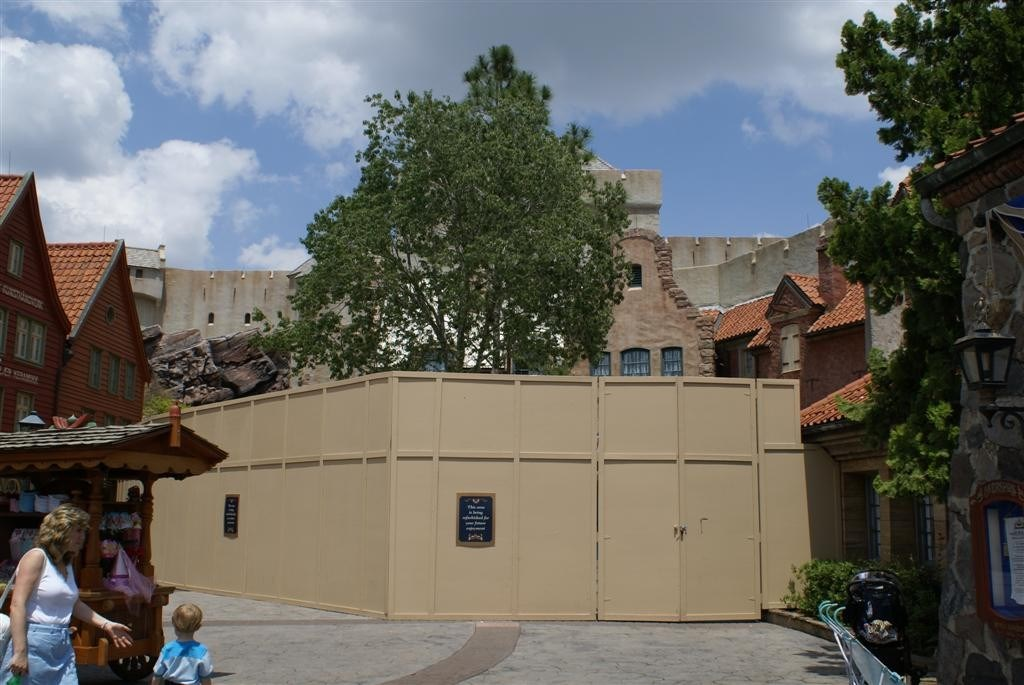 Closed for refurbishment