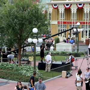 2 of 21: Magic Kingdom - F18 jets and 'Extreme Makeover - Home Edition' taping