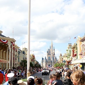 5 of 21: Magic Kingdom - F18 jets and 'Extreme Makeover - Home Edition' taping
