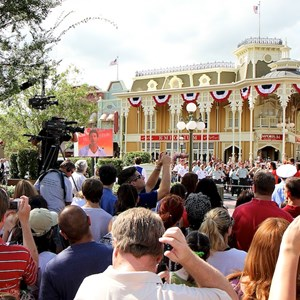7 of 21: Magic Kingdom - F18 jets and 'Extreme Makeover - Home Edition' taping
