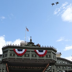 11 of 21: Magic Kingdom - F18 jets and 'Extreme Makeover - Home Edition' taping