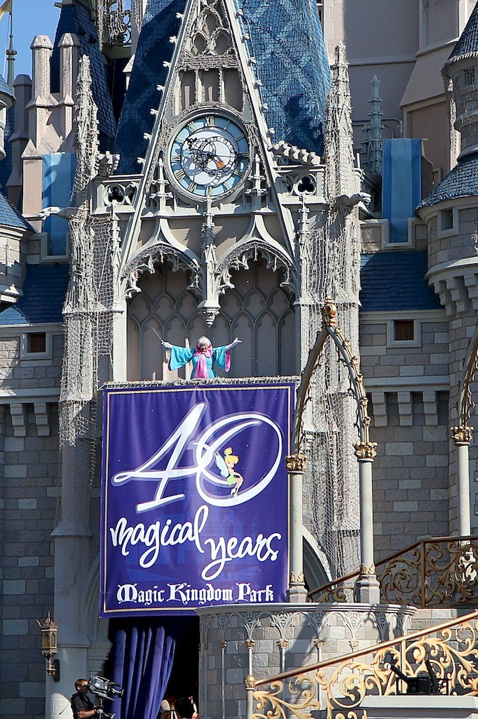 Magic Kingdom 40th Anniversary