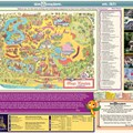 Magic Kingdom - Special vintage edition of the park's guidemap. Copyright 2011 The Walt Disney Company.