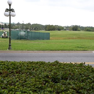1 of 4: Magic Kingdom - New Bus Stop site preparation