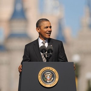 3 of 3: Magic Kingdom - President Obama visit