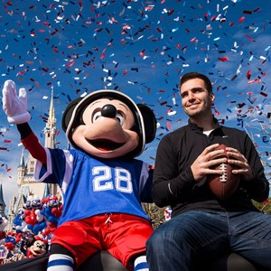 2 of 3: Magic Kingdom - Super Bowl MVP Joe Flacco motorcade at the Magic Kingdom