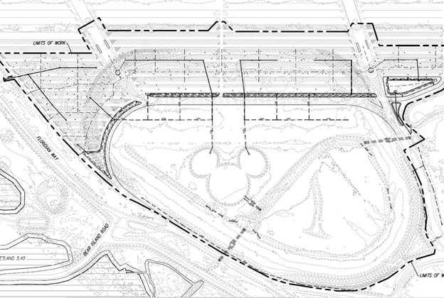 Magic Kingdom TTC parking lot expansion plans