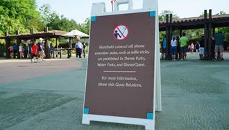 PHOTOS - Selfie Stick ban comes into effect at all Walt Disney World theme parks