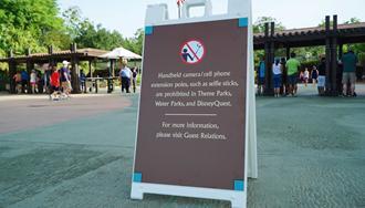 PHOTOS - Selfie Stick ban comes into effect at all Walt Disney World theme parks