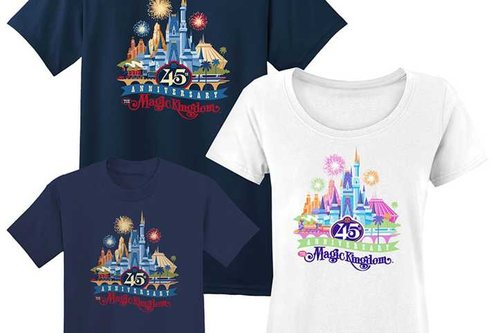Magic Kingdom marks 45th anniversary with castle presentation and merchandise