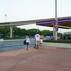 New Magic Kingdom area bag check areas