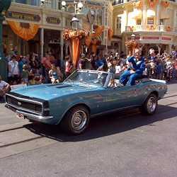 Buzz Aldrin at the Magic Kingdom