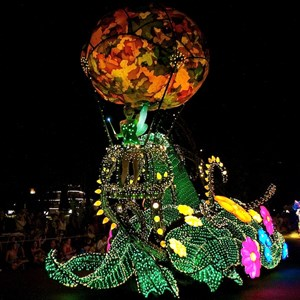 2 of 58: Main Street Electrical Parade - Main Street Electrical opening day performance