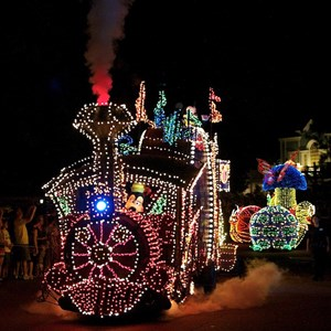4 of 58: Main Street Electrical Parade - Main Street Electrical opening day performance