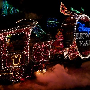 6 of 58: Main Street Electrical Parade - Main Street Electrical opening day performance