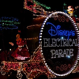 7 of 58: Main Street Electrical Parade - Main Street Electrical opening day performance