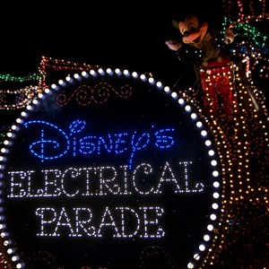 9 of 58: Main Street Electrical Parade - Main Street Electrical opening day performance