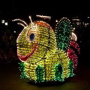 14 of 58: Main Street Electrical Parade - Main Street Electrical opening day performance