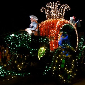 22 of 58: Main Street Electrical Parade - Main Street Electrical opening day performance