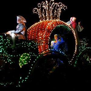 23 of 58: Main Street Electrical Parade - Main Street Electrical opening day performance