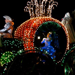 24 of 58: Main Street Electrical Parade - Main Street Electrical opening day performance
