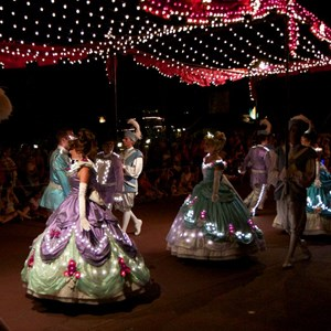 25 of 58: Main Street Electrical Parade - Main Street Electrical opening day performance