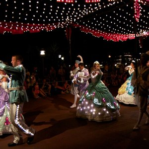 26 of 58: Main Street Electrical Parade - Main Street Electrical opening day performance