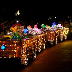 38 of 58: Main Street Electrical Parade - Main Street Electrical opening day performance