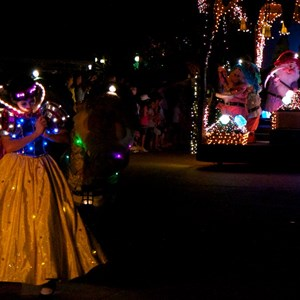 40 of 58: Main Street Electrical Parade - Main Street Electrical opening day performance