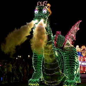 52 of 58: Main Street Electrical Parade - Main Street Electrical opening day performance
