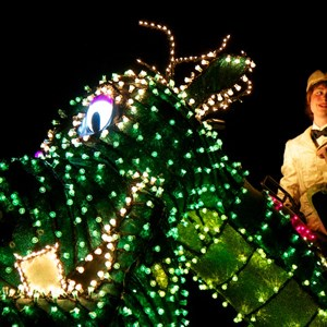 54 of 58: Main Street Electrical Parade - Main Street Electrical opening day performance