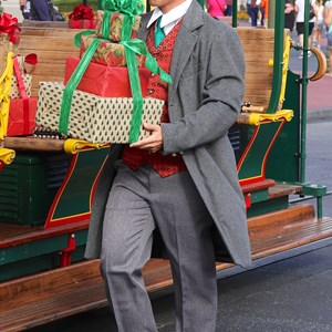 2 of 10: Main Street Trolley Show - Holly Jolly Trolley Show