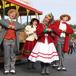 5 of 10: Main Street Trolley Show - Holly Jolly Trolley Show