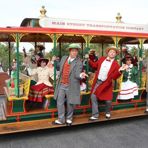 9 of 10: Main Street Trolley Show - Holly Jolly Trolley Show