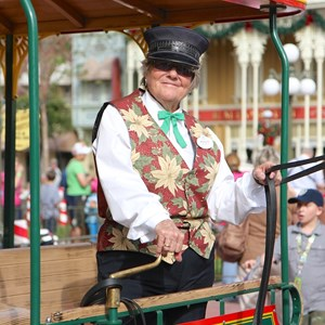 10 of 10: Main Street Trolley Show - Holly Jolly Trolley Show