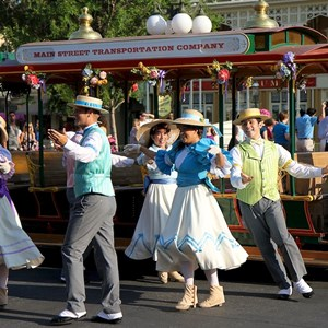 1 of 9: Main Street, U.S.A. - Main Street Trolley Show