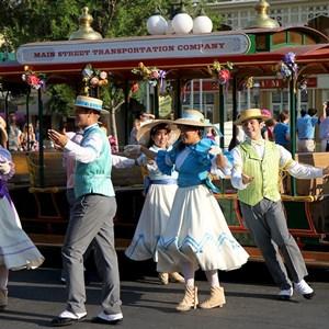 1 of 9: Main Street, U.S.A. - Main Street Trolley Show