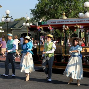 4 of 9: Main Street, U.S.A. - Main Street Trolley Show