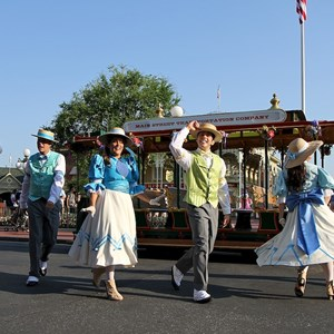 5 of 9: Main Street, U.S.A. - Main Street Trolley Show