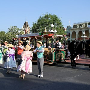 7 of 9: Main Street, U.S.A. - Main Street Trolley Show