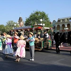 7 of 9: Main Street, U.S.A. - Main Street Trolley Show