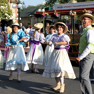 9 of 9: Main Street, U.S.A. - Main Street Trolley Show