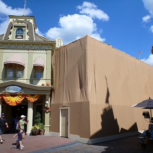 1 of 2: Main Street, U.S.A. - Center Street refurbishment