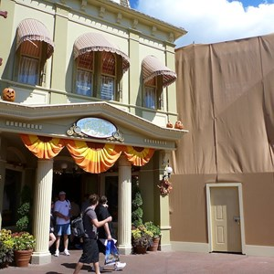 2 of 2: Main Street, U.S.A. - Center Street refurbishment