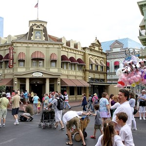 1 of 2: Main Street, U.S.A. - Center Street refurbishment nearing completion