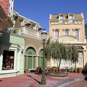 2 of 6: Main Street, U.S.A. - Center Street refurbishment complete